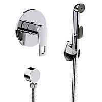 Гигиенический душ со смесителем скрытого монтажа VOLLE BENITA 15175200  (52828)