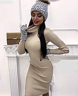 Платье женское ангоровое  бев035, фото 1