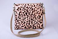 Женский клатч Леопард,сумка через плечо с принтом