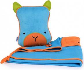 Подушка - плед SNOOZIHEDZ BLUE, фото 2