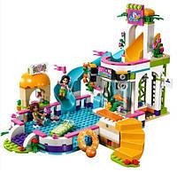 Конструктор Bela 10611 Бассейн Хартлейк сити 593 дет (по типу LEGO Friends 41313)