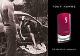 Мужские Pour Homme туалетная вода 100 ml. (Бордовый Пур Хом), фото 3