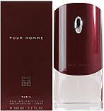 Мужские Pour Homme туалетная вода 100 ml. (Бордовый Пур Хом), фото 7