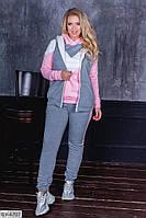 Женский спортивный костюм тройка, 48-50, 52-54