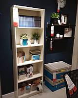 Книжный шкаф IKEA GERSBY, белый, 60x180 см