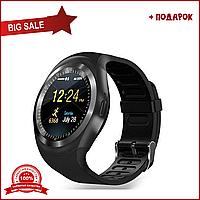 Умные часы Y1 черные. Smart watch black