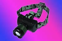 Яркий налобный фонарь Police BL-6968-T6 50000W
