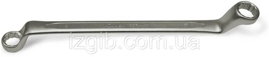 Ключ гнуто-накидной Cr-V 25х28мм