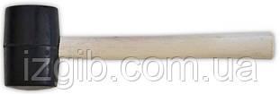 Киянка резиновая деревянная ручка 450г 45мм