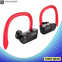 Беспроводные наушники AWEI T2 Twins Earphones Red внутриканальные, Bluetooth