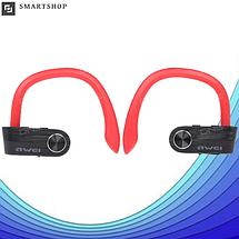 Беспроводные наушники AWEI T2 Twins Earphones Red внутриканальные, Bluetooth, фото 3