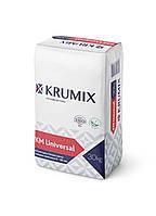 Легкая универсальная гипсовая штукатурка КМ Universal, Krumix