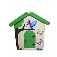 Мягкий домик Попугайчик