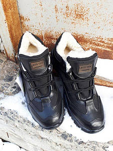 Тактические кроссовки «Ukr-Tec» Зимние черный, 36-46 размеры