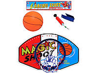 Баскетбольное кольцо с надувным мячом. M 1076
