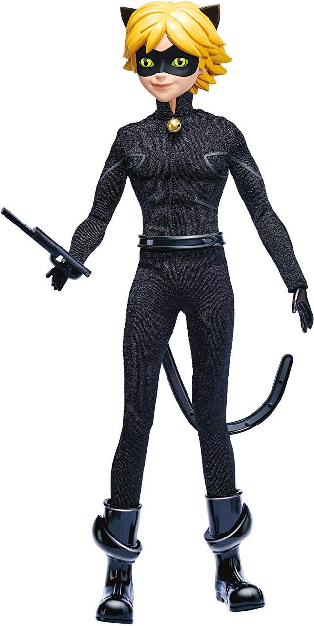Кукла Супер Кот 26 см базовая шарнирная Miraculous Ladybug Cat Noir суперкот ледибаг