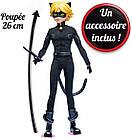 Кукла Супер Кот 26 см базовая шарнирная Miraculous Ladybug Cat Noir суперкот ледибаг, фото 3