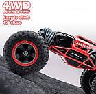 Перевертыш  1:16 Красный Скальный Багги на радиоуправлении Rock Crawler Cars Buggy 2.4Ghz, фото 5