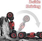 Перевертыш  1:16 Красный Скальный Багги на радиоуправлении Rock Crawler Cars Buggy 2.4Ghz, фото 6