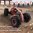 Перевертыш  1:16 Красный Скальный Багги на радиоуправлении Rock Crawler Cars Buggy 2.4Ghz, фото 7