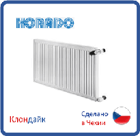 Стальной радиатор Korado тип 33 500*1400 боковое подключение