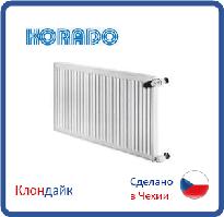Стальной радиатор Korado тип 33 500*1600 боковое подключение