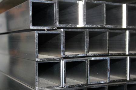 Квадрат алюминевый АМц 50х50