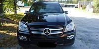 Дефлектор капота Mercedes GL-Class 2006- темный