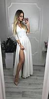 Платье Лиана в пол на роспись вечернее выпускное гипюр плаття 42 44 46 48 50 Р