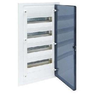 Щит в/у з  прозорими дверцятами, 48 мод. GOLF (VF412TD)
