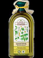 Шампунь против перхоти (Березовые почки и Касторовое масло) - Зеленая Аптека 350мл.