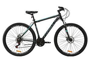 """Велосипед горный 29"""" Formula THOR 2.0 2020 (рама 20"""", черный с серым)"""