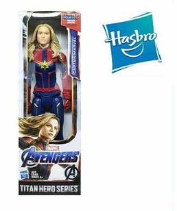 "Фигурка герой Marvel Капитан Марвел ""Мстители: Финал"" -  Titan Hero Hasbro 30 см"