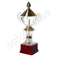 Кубок большой в золотом цвете 32 см. MS 1254-2
