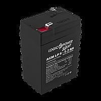 Аккумулятор AGM LogicPower LP 6-5,2 AH SILVER
