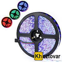 Светодиодная лента с комплектом для подключения RGB 5050 | 7 цветов