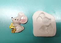 Молд Мышка с сыром, мышь новогодний, 2020, символ года