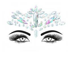 Стразы-наклейки для макияжа и боди-арта 3