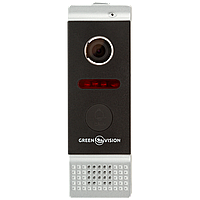Вызывная панель для видеодомофонов. GREEN VISION GV-002-J-PV80-110 silver