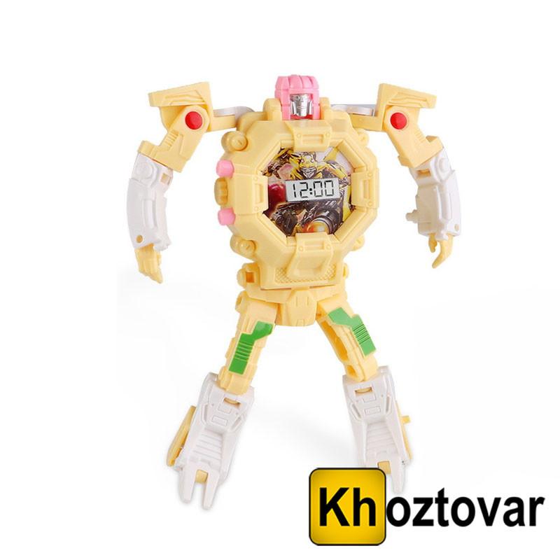Годинник-іграшка трансформер Robot Watch