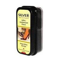 Silver. Губка для обуви придающая блеск нейтрал ( 8690757000815)