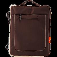 "Сумка для iPad, планшета LF016-LG до 9.7"" полиэстер, серо-коричневый"