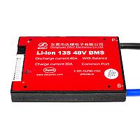 BMS плата Li-ion 48V 13S Dis 40A Ch 30A