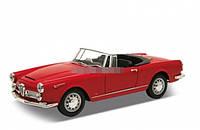 Модель машины ALFA ROMEO SPIDER 1960 WELLY