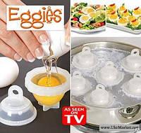 Яйцеварка-формы для варки яиц без скорлупы Eggies (1,3)