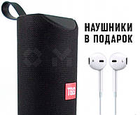 Портативная Bluetooth колонка TG 113 чёрного цвета