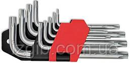 Набор ключей TORX Cr-V 9шт. (Т10-Т50)