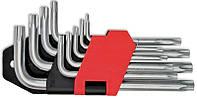 Набор ключей TORX Cr-V 9 шт. (Т10-Т50) удлиненные