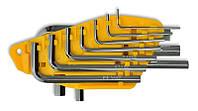 Набор ключей имбусовых Cr-V 10 шт. (1,5–10 мм)