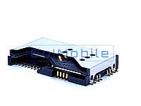 Коннектор SIM Fly DS125, DS130, MC130, IQ4403 IQ4411 IQ4503 Cat b15 + коннектор карты памяти